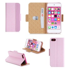 Beauty Cover With Card Holder Assorted Smart Phone Case For iPod Touch 6
