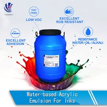 Water-based Liquid Acrylic Resin For Eco-friendly Inks
