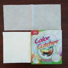samples free Color Catcher Small qty Sale laundry washing produts