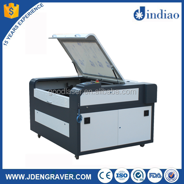 Great character cheap price printed fabric laser cutting machine