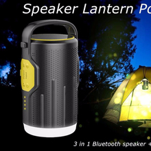 Rechargeable Camping LED Lantern Bluetooth Speakers with Strobe Light