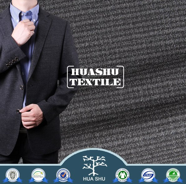 High quality BV certified Suiting Menswear fabric stock lot