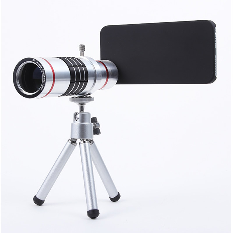 Cellphone mobile phone 18x zoom Camera Zoom optical Telescope telephoto Lens For Samsung note 2 3 4 5 galaxy S4 S5 S6 S7 edge