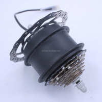 DGW10A-MD Shengyi 250w brushless electric bicycle hub motor with disc brake mechanism