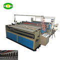 High speed jumbo roll log saw slitting machine