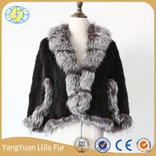 fashion alibaba china Newest design fur jacket women