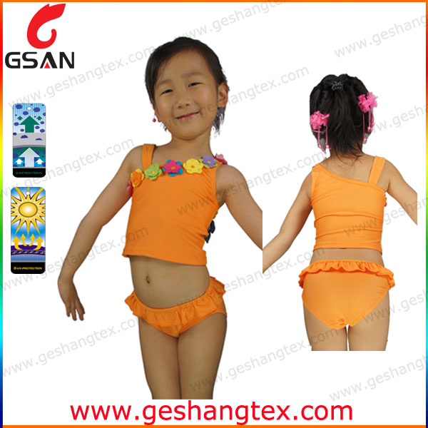 High quality 2014 new young girl swimsuit models