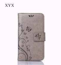 XYX competitive price free sample flip leather case for lg optimus zone3