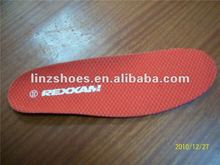 Insole for safety shoes