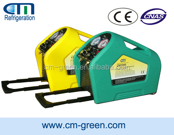 portable refrigerant recovery/refill unit CM2000A