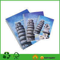 spiral Style and Paper Cover Material coloring notebook