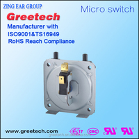 5-16a 125/250vac greetech CE approved differential water pump automatic pressure switch