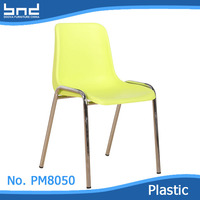 wholesale modern chrome legs dining chair made in China
