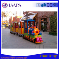 Kids love! Interesting and cheapest amusement park train rides for sale