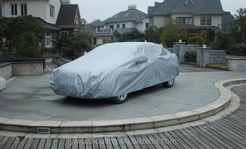 Universal waterproof Car Body Design breathable fabric car cover with mirror pockets Car Body Design