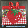 custom tranparent pvc shopping bag clear transparent tote bag