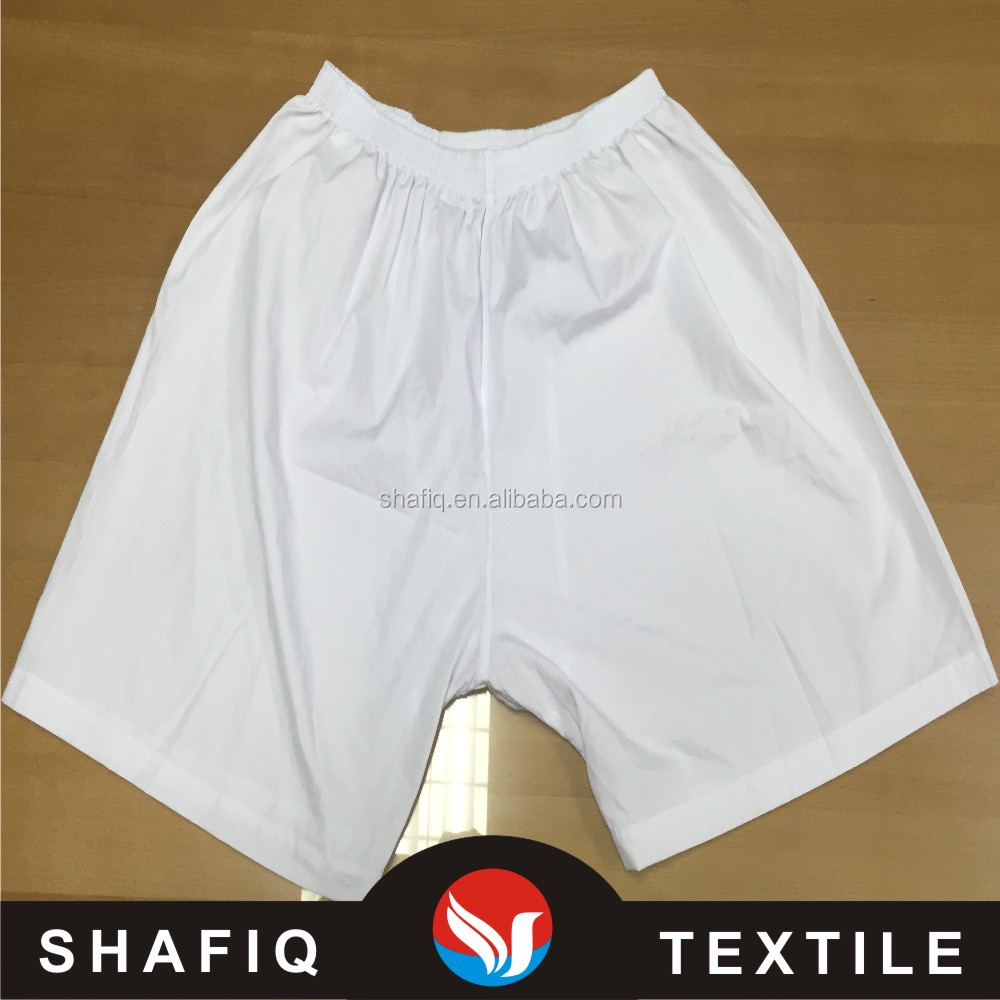 polyester and cotton T/C 65/35 133*72 158cm Arab pants white color