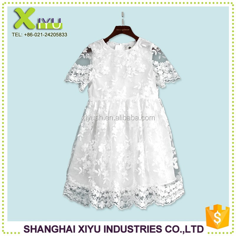 China commercial Customize baby girl party frocks for girls