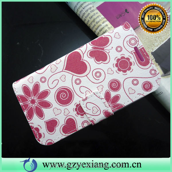 Wholesale Leather Phone Case For Samsung I8262 I8160 Back Cover