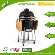 2017 Outdoor New Product Auplex Kamado 21 Inch Oval Grill Egg Ceramic Grill