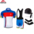 5D gel pad italian cycling team set mtb bmx team customized sublimated custom cycling clothing with 1 pcs MOQ