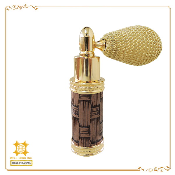 Golden fancy arab oriental style top selling new product in Dubai perfume bulb atomizer