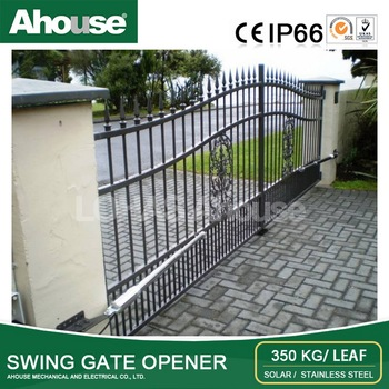 Ahouse DC24V Remote System swing gate opener