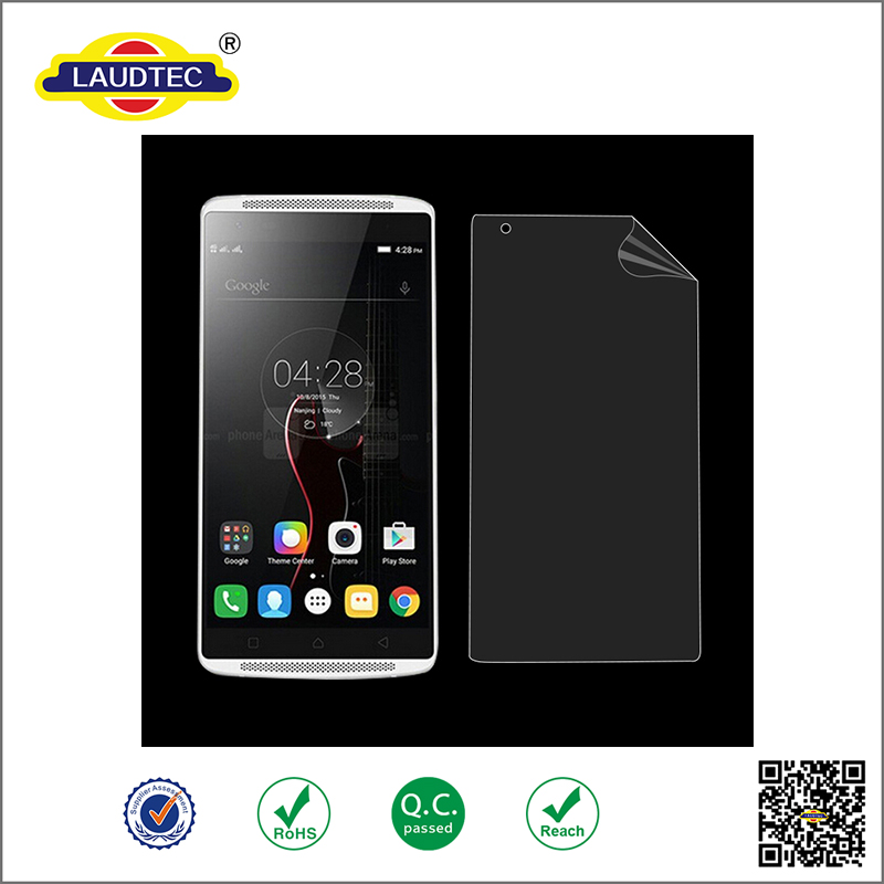 Direcly Manufacturer clear 4H PET Screen protector for Lenovo vibe x3 ------ Laudtec