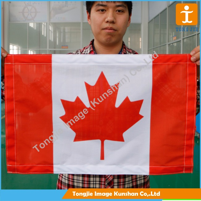 Wholesale good quality polyester national flags