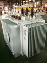 Oil immersed wound core 13.2 kv/230 v oil transformer