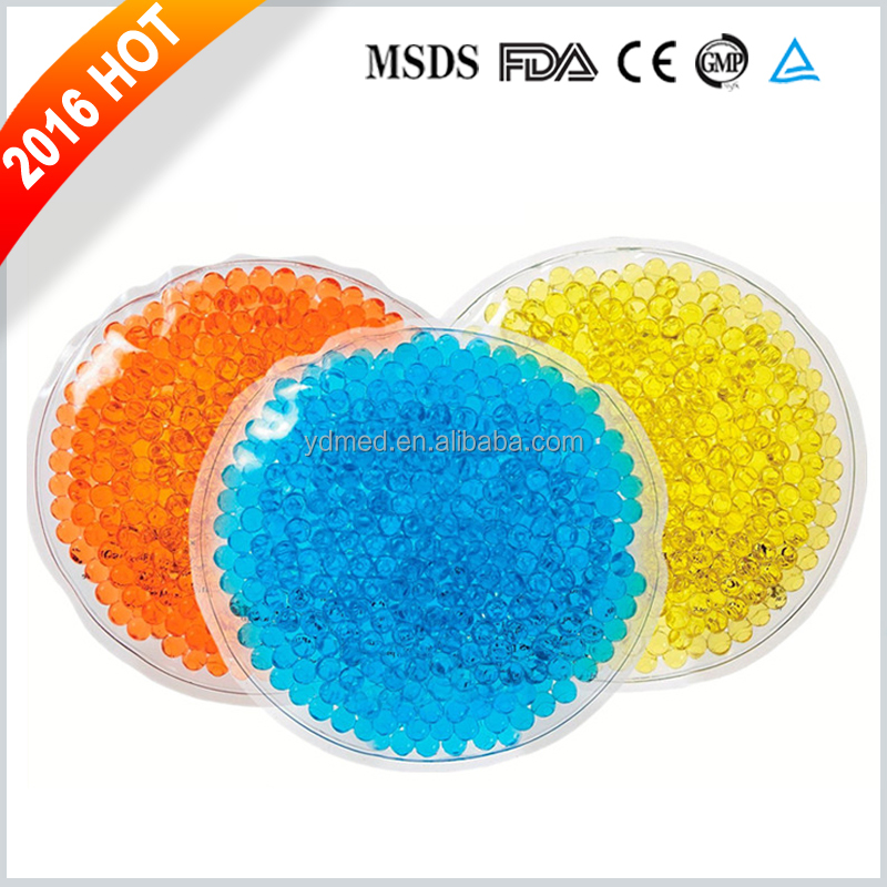 Promotion Custom Ice Warm Reusable Beads Hot Cold Gel Pack