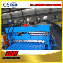 color steel roof sheet roller / corrugated color steel roof panel making machine