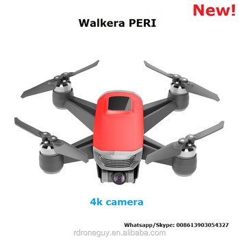 2018 new product FPV WIFI 12MP drone Walkera PERI mini drones with 4k camera and gps
