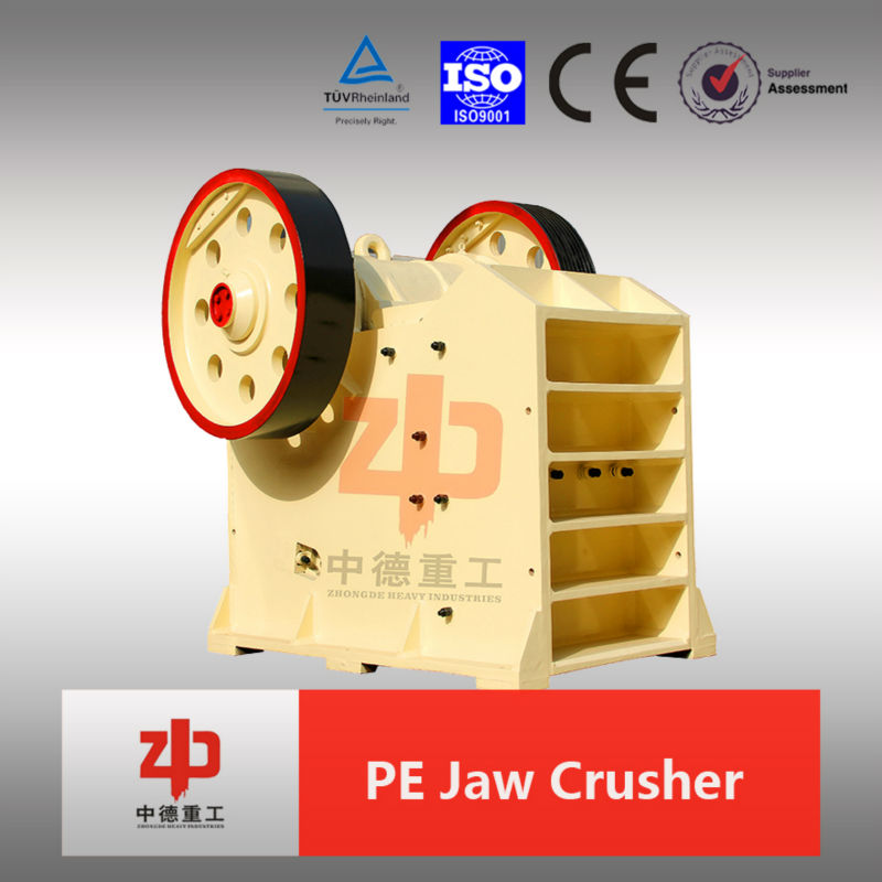 Hot Sale !!!Jaw Crusher for crushing stone BY ZHONGDE LUO YANG