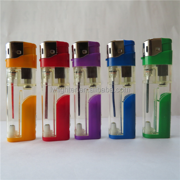 China LED Electric Plastic Cigarette Lighter
