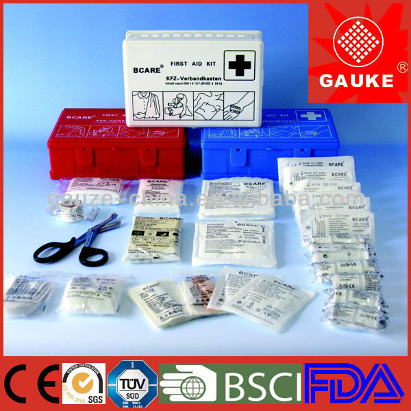 first aid emergency Erste Hilfe material case/kit/bag/box/