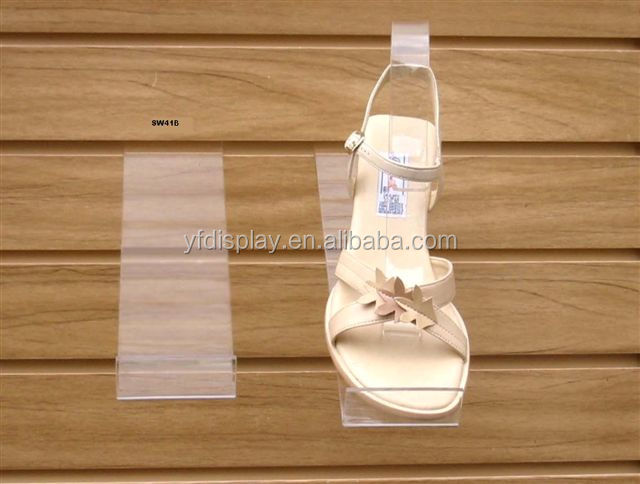 Acrylic shoes holder and racks