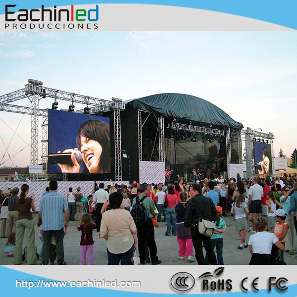 No Tools Installation Outdoor Fashion Show LED Giant Screen/xxx Videos China