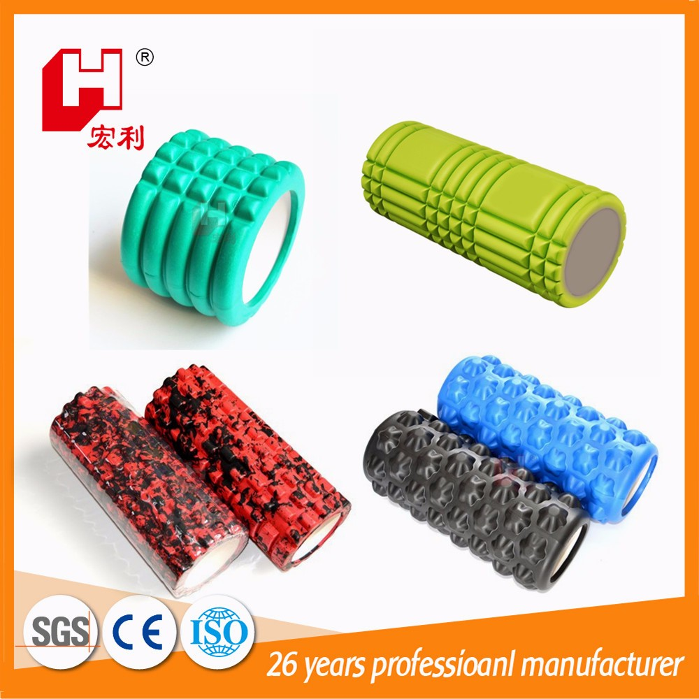 Yoga kits professional eco eva safety frame material shape customized hollow foam yoga roller