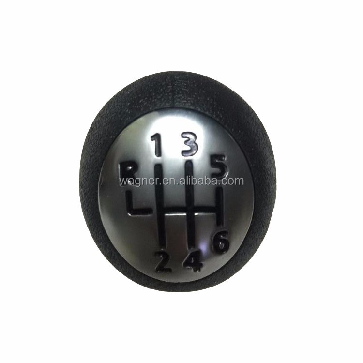 6 Speed Silver Cap Gear Shift Knob For Renault Espace MK4 2003+