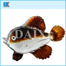 Wholesale colored glass fish crafts