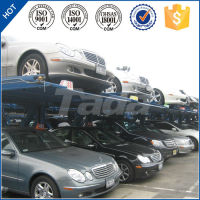 China PJS 2 post car lift/vehicle parking machine/vertical car parking system