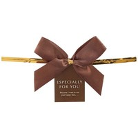 2016 wholesale satin ribbon bow for gift wrapping with wire twist