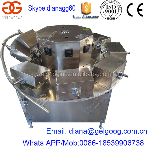 Biscuit Cone Cookies Maker Pizzelle Molding Machine