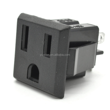 15A 250V 3 Core American Socket US Taiwan Japan Thailand Socket