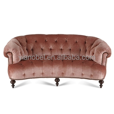 French Country Style Living room Chesterfield Sofa Two Seat