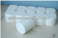 2013 Hot sale high quality plain wooden 2/3ply coreless toilet paper