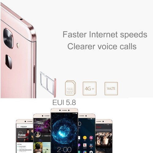 Original Letv Le 2 Pro 32GB, Network: 4G 5.6 MTK6797T Helio X25 Ten Core 2.5GHz, RAM: 4GB
