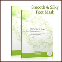 Beauty product skin peeling moisture anti-wrinkle smoothing milky foot mask
