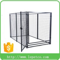 factory direct low price galvanized welded wire dog kennel gate panels